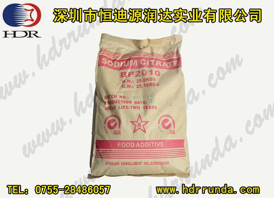 柠檬酸钠用途